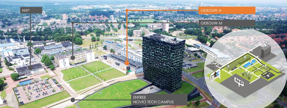 Plattegrond Novio Tech Campus Nijmegen, Techwatch